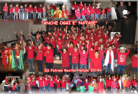 Collage Natale